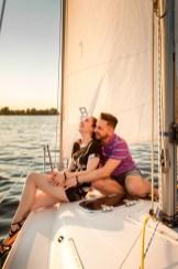 Фотосессия лав стори (Love story) на яхте