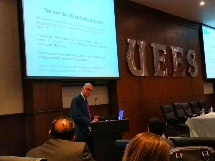 seguridad y salud en el trabajo ratificados por Ecuador