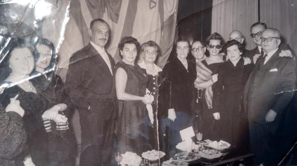 Ministra de Relaciones Exteriores de Israel, con la familia Lutzky