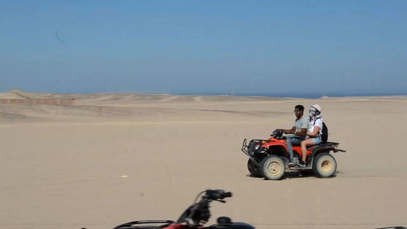 Quad bike, desert of Hurghada