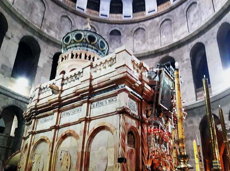 The Aedicule, The Church of the Holy Sepulchre
