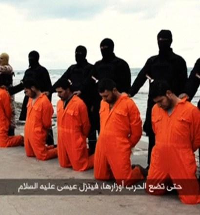 Islamitas matam cristãos em praia da Líbia
