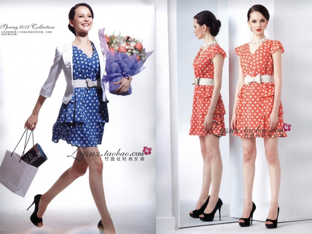 芳菲儿 FangFavor Fashion collection 2012  - So gorgeous for the office and the evening ! (2/6)