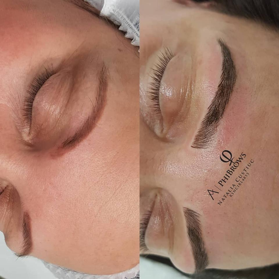 Old #tattoo cover up with #phibrows  PHIBROWS - is all about precession, #perfection and #attentiontodetail. There is no other #semipermanent #Microblading #Treatment that will deliver results quite like it , a result that boasts #hairstrokes that are so hyper realistic and blend perfectly with the natural landscape of the #brow . Result after 2nd #phibrows treatment .  The shape is calculated using a special measuring tool that goes with your own bone structure to create the perfect shape for you .  Results & longevity varies depending on skin type, lifestyle, exposure to the sun, skincare regime. ☎️018971646 info@natashabeauty.ie . . . . . . . #semipermanentmakeup #semipermanenteyebrows #microbladingeyebrows #micropigmentation #tattoo #phibrowsswords #phibrowsartist #phiacademy @branko_babic_phiacademy @phibrowsireland #browartist @thedublinmakeupacademy #archaddicts @ Natasha Beauty Therapy Swords