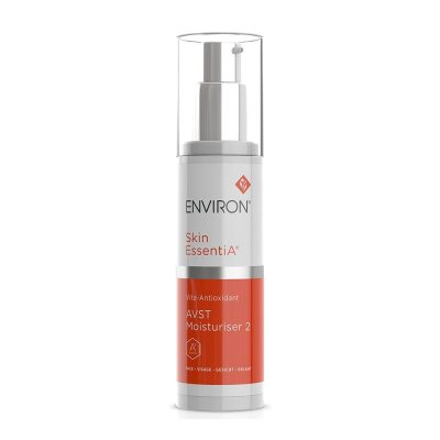 a moisturizing face cream with vitamins in a bottle