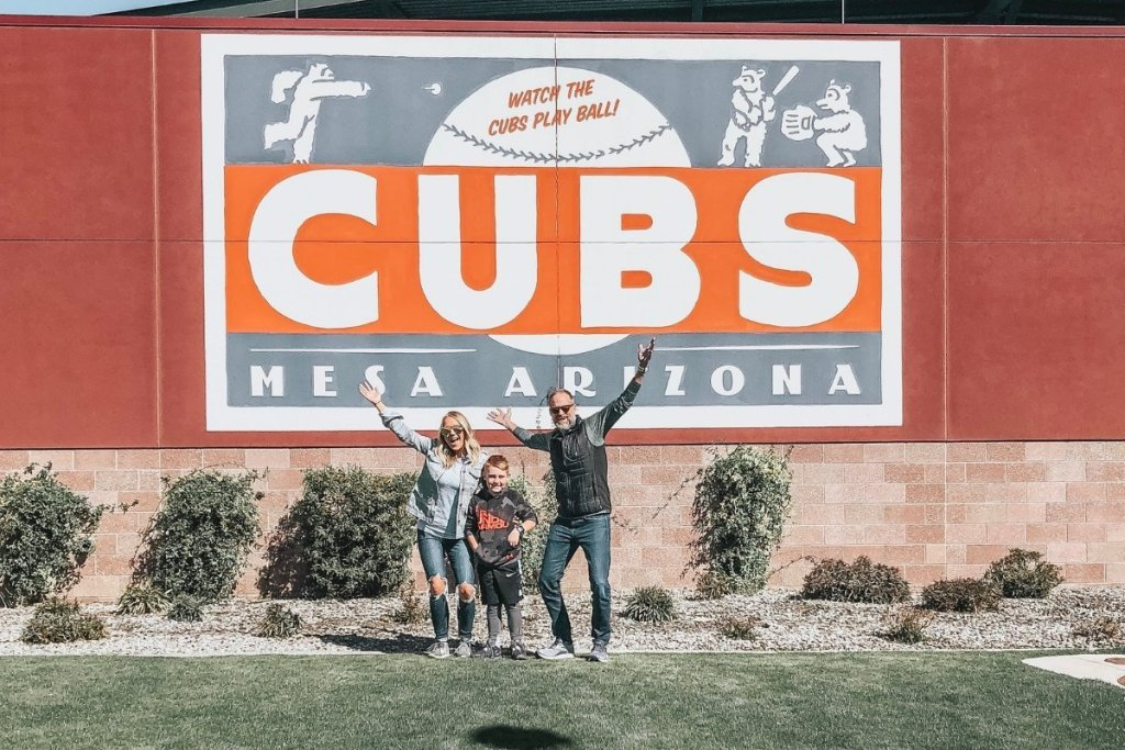 Chicago Cubs training facility in Arizona