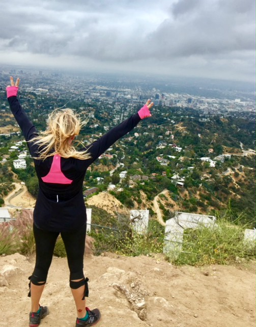 Hiking the Hollywood Sign