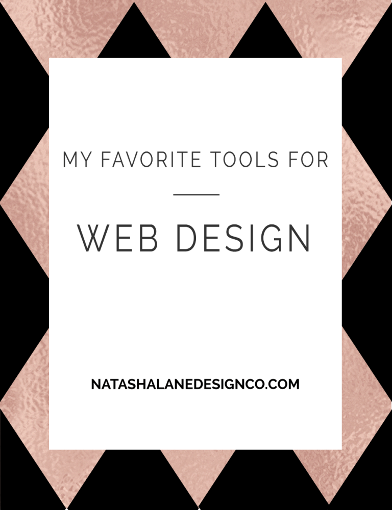 My Favorite tools for Web Design