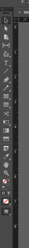 Tool bar in InDesign