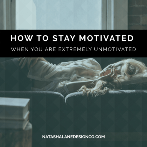 How to Stay Motivated When You are EXTREMELY Unmotivated