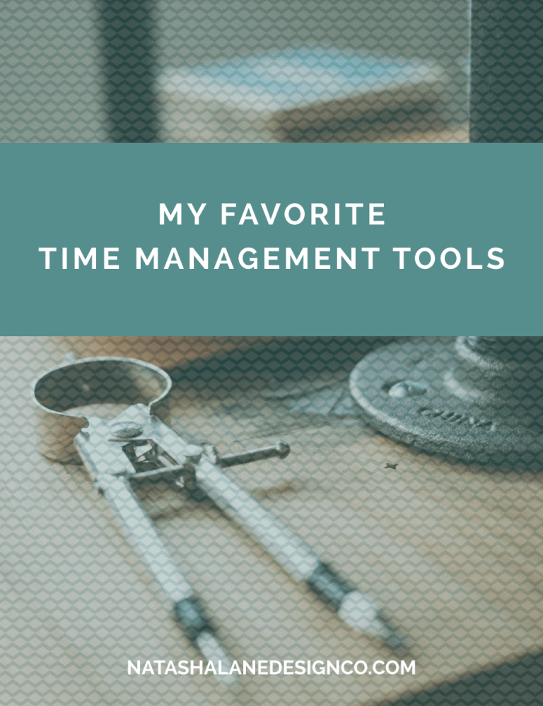 My Favorite Time Management Tools for productivity