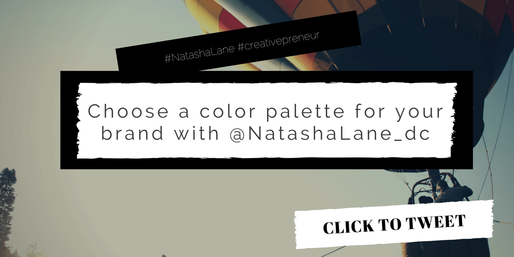 How to Choose a Color Palette for Your Brand -Click to tweet