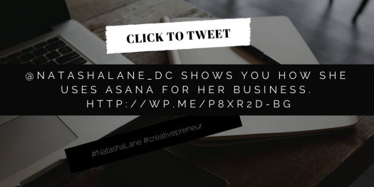 Asana -Click to tweet