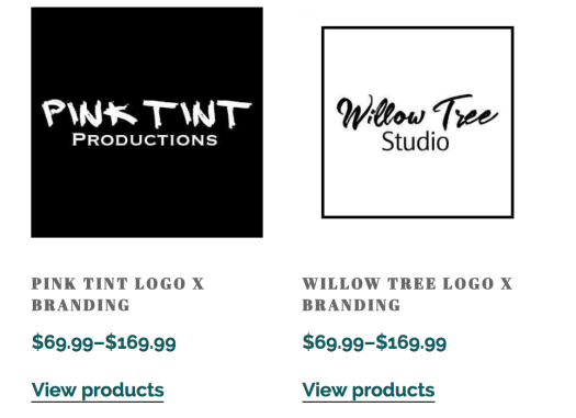logo templates from shop