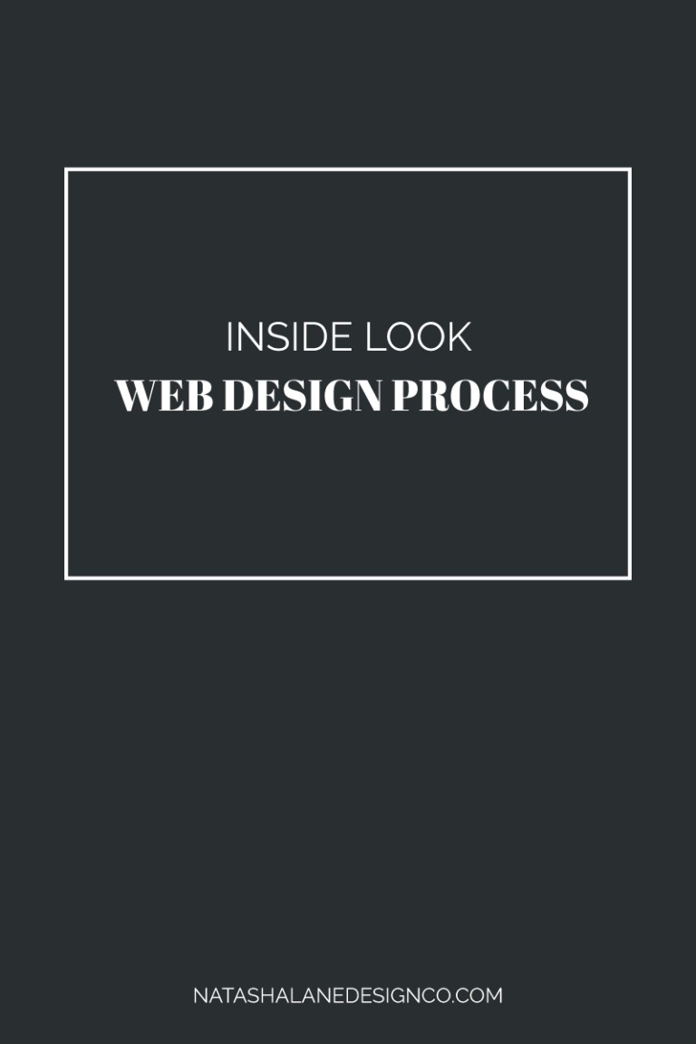 Inside Look at my Web Design Process