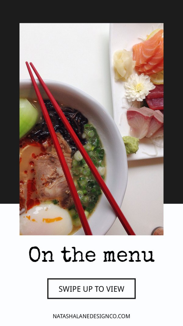 Food Maestro Instagram Story Template