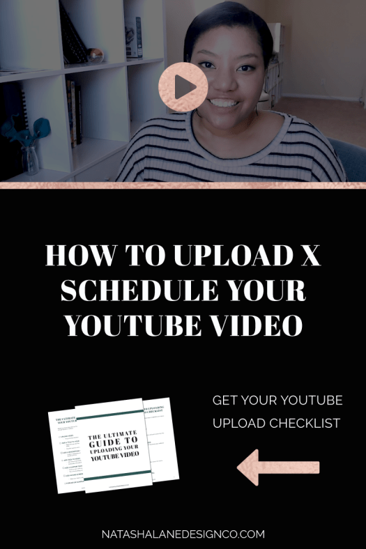 How to upload and schedule your YouTube video