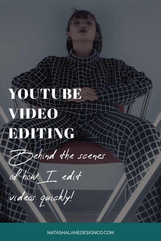 YOUTUBE VIDEO EDITING (BTS of how I edit videos QUICKLY!)