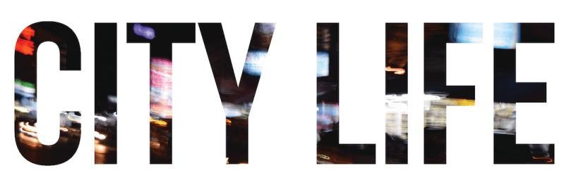 CITY LIFE - TYPOGRAPHIC HEADER