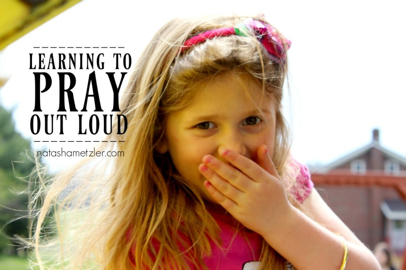 Learning to Pray Out Loud