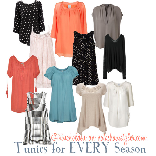 Tunics for when you're not Expecting
