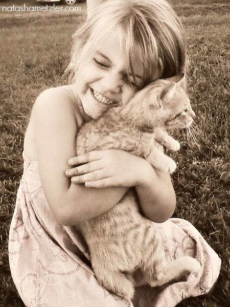 hadassah and cat