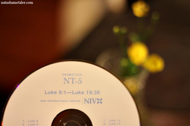 listen to an audio bible @natashametzler