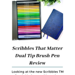 Scribbles That Matter Brush Marker Review