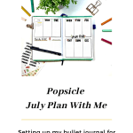 July Plan With Me