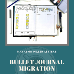 Mid-Year Bullet Journal Migration