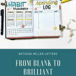 Bullet Journal Plan With Me