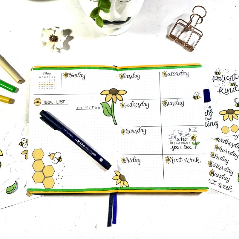 The Alastair Method: Weekly Layout Inspiration