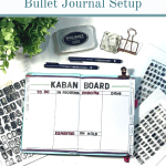 Yearly Bullet Journal Setup
