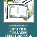 Health and Wellness Bullet Journal Setup