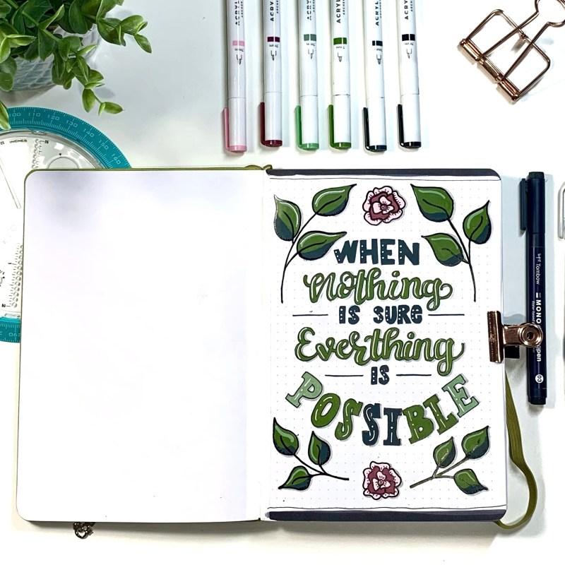 Favourite Bullet Journaling Supplies: Acrylograph Paint Pens
