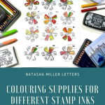 Coloring Stamp Inks