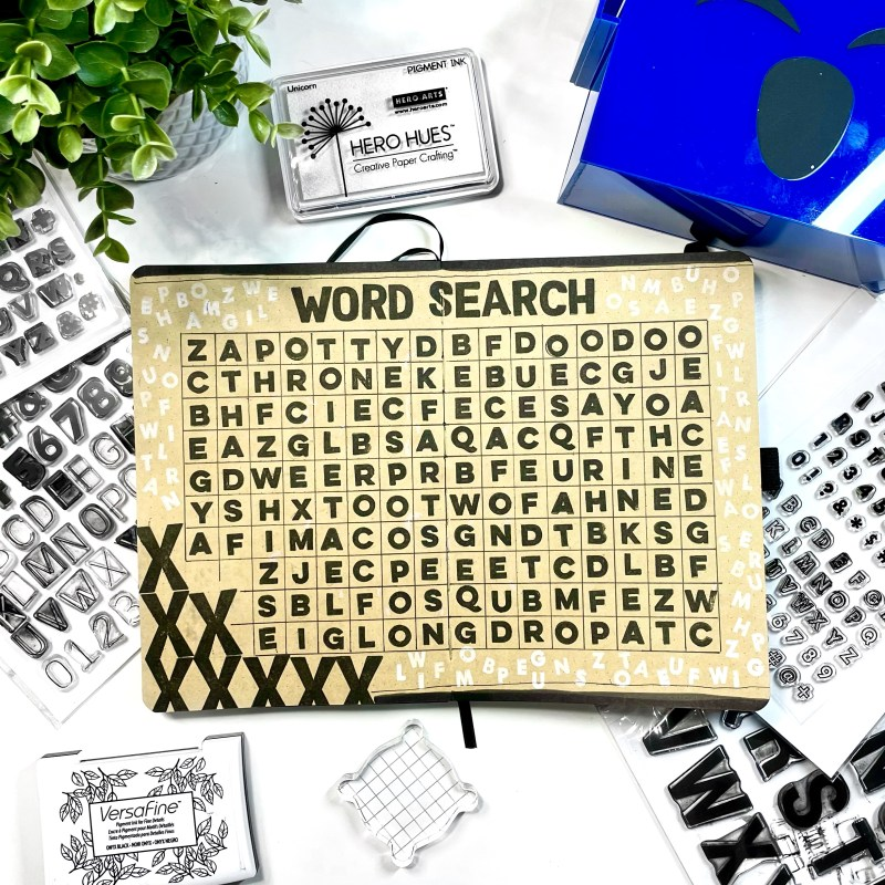3 Ways to Use Alphabet Stamps