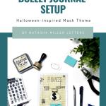 October Bujo Setup