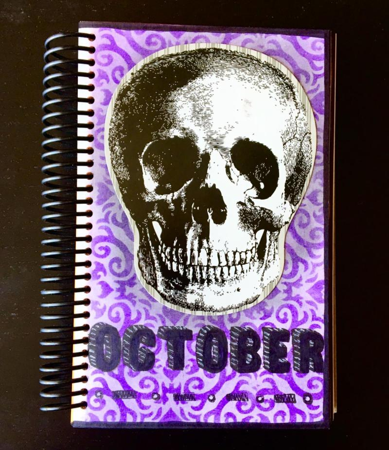 October Title Page