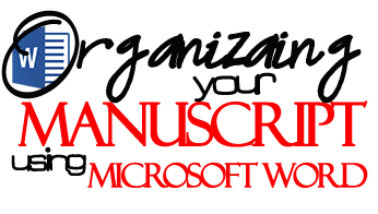 organizaing MS Word