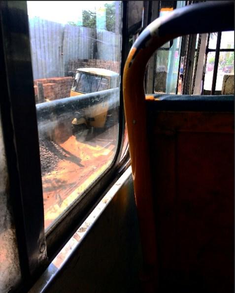 bus window frame