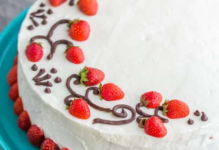 Strawberry Cake Recipe Natashaskitchencom