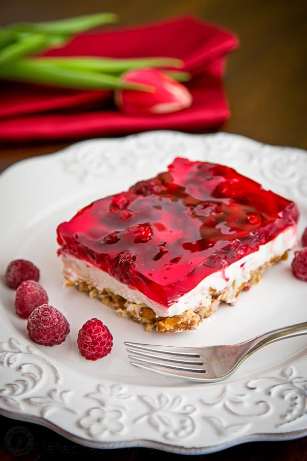 raspberry Pretzel Jell-O recipe