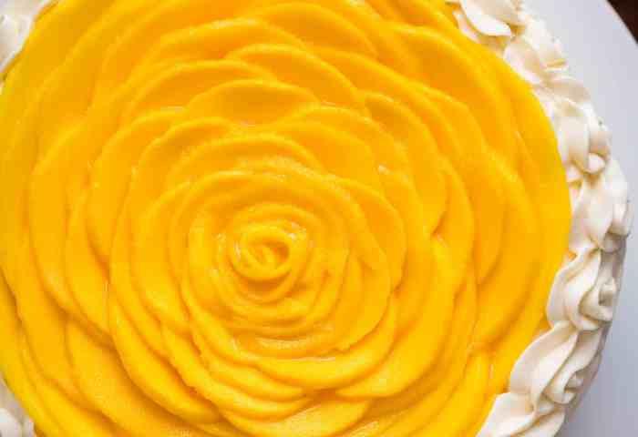 Mango Cake Recipe Video Natashaskitchencom