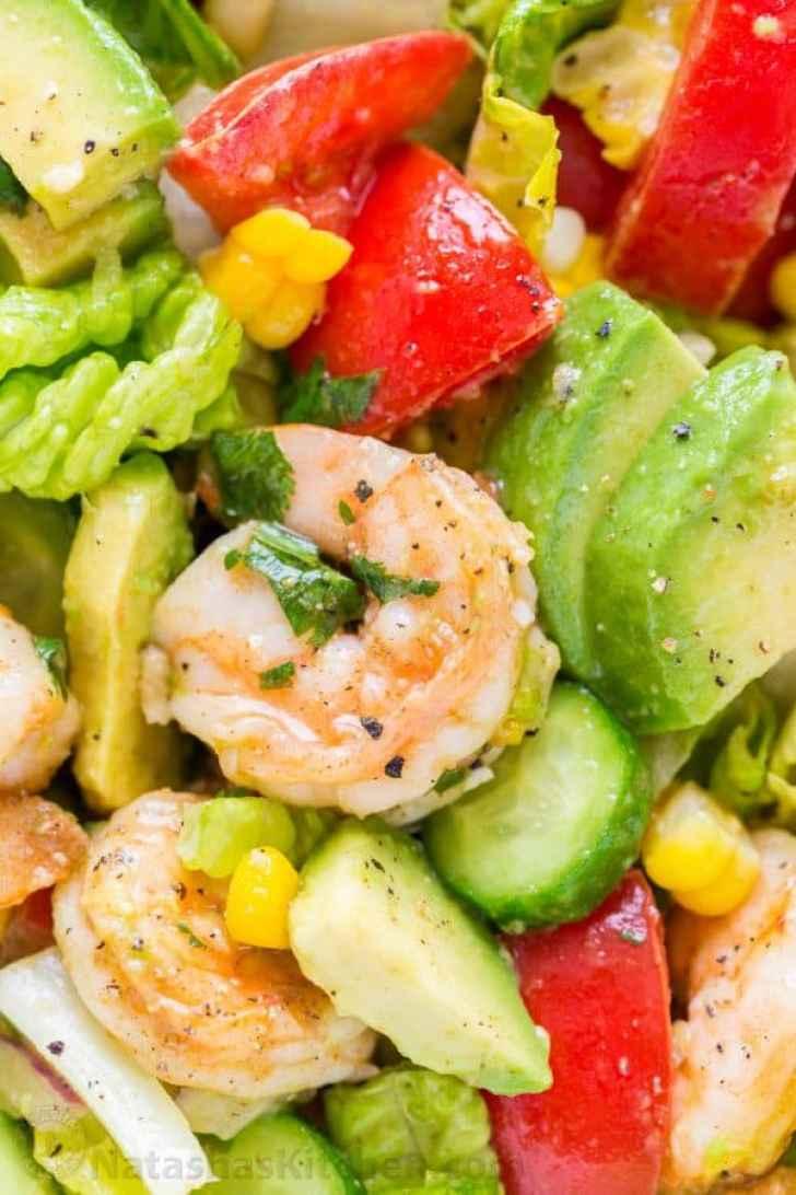 Juicy Cajun Shrimp close-up