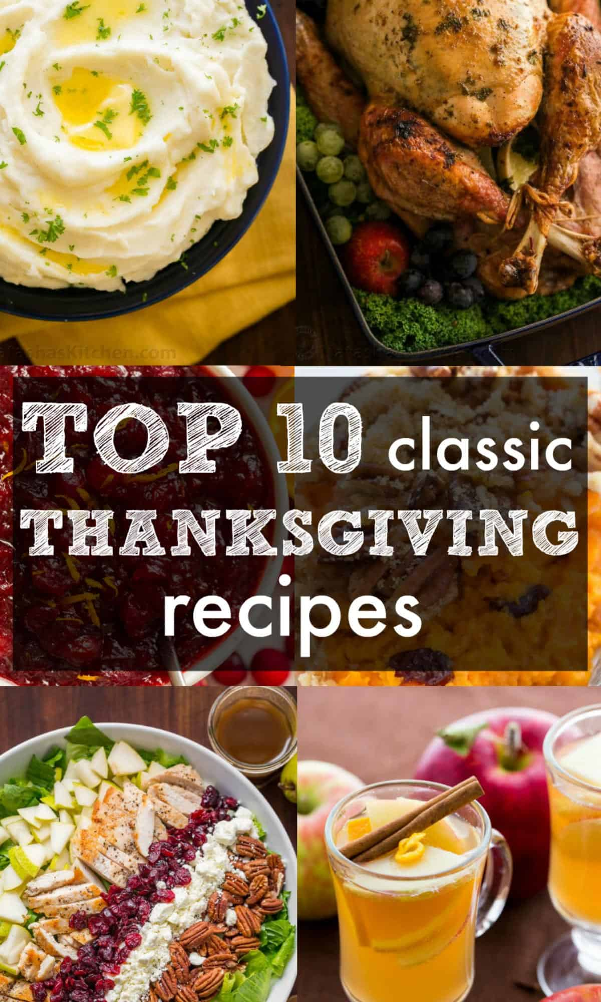 Our Top 10 Classic Thanksgiving Recipes