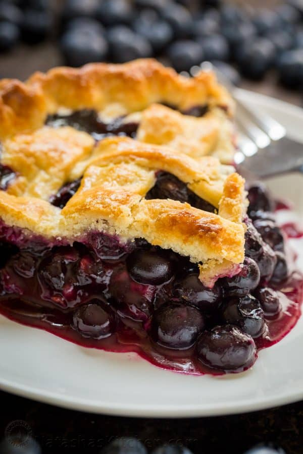 Blueberry Pie Recipe Video Natashaskitchen Com