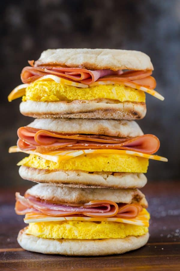 Weight Watchers Make Ahead Freezer Breakfast Sandwich