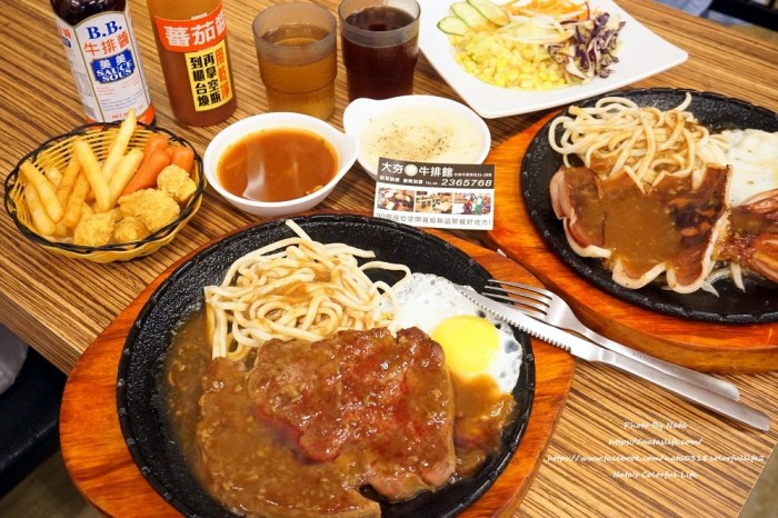 【美食♔台南東區牛排】大夯牛排Da-hang Steak House。成大商圈美食!漫威迷看過來,吃飯還有漫威人物陪你一起吃飯