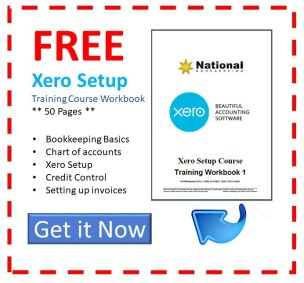 free Xero Setup Training Course from local bookkeepers